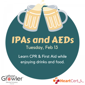 2 New Classes - IPAs and AEDs promo image